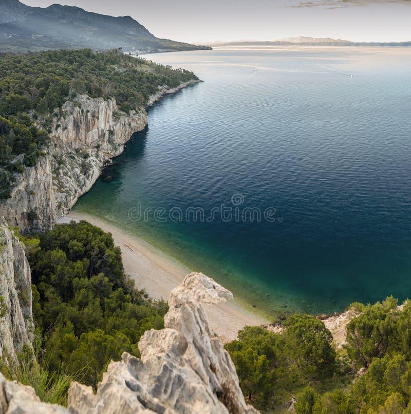 Nugal beach Makarska | Secluded beach, Beautiful beaches