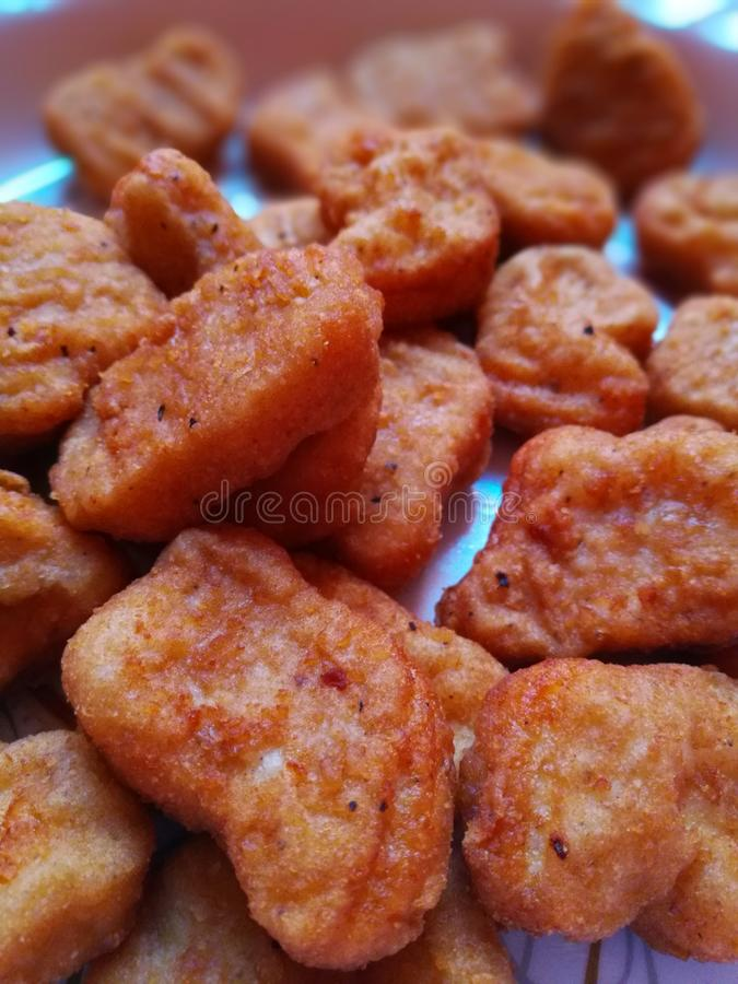 Nuggets stock photography
