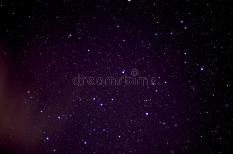 Nuit étoilée étoilée images stock