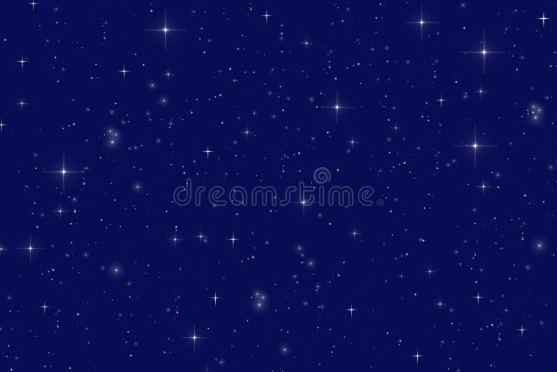 Nuit étoilée illustration stock