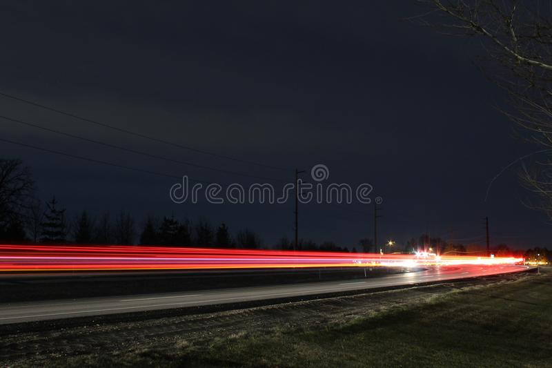 nuit photographie stock