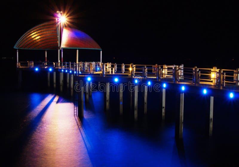 Nuit au pair à Townsville, Australie photographie stock libre de droits