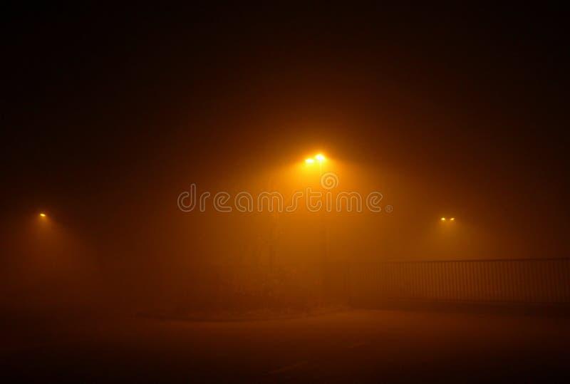 Nuit brumeuse photos stock