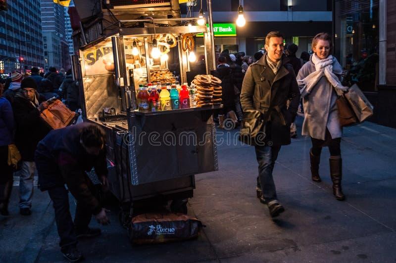 Nuit chaude d'hiver photo stock