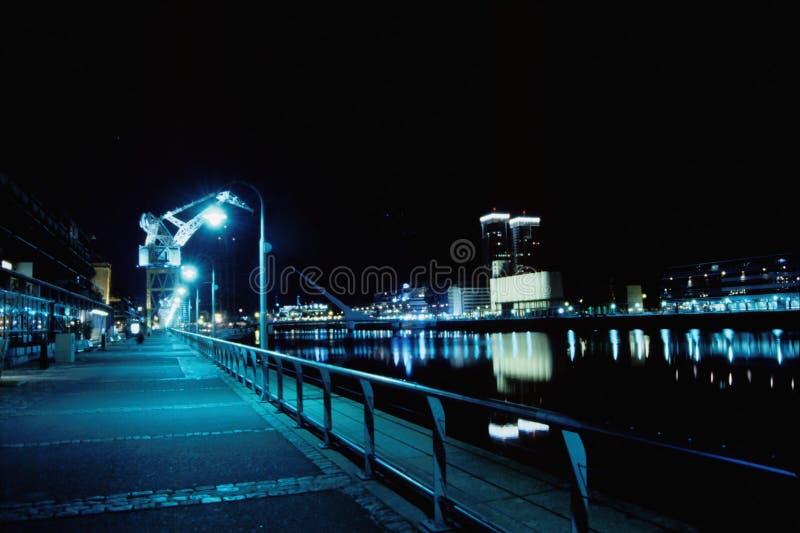 Nuit de Buenos Aires images stock