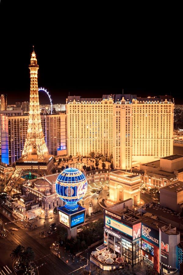 Nuit de Las Vegas photos libres de droits