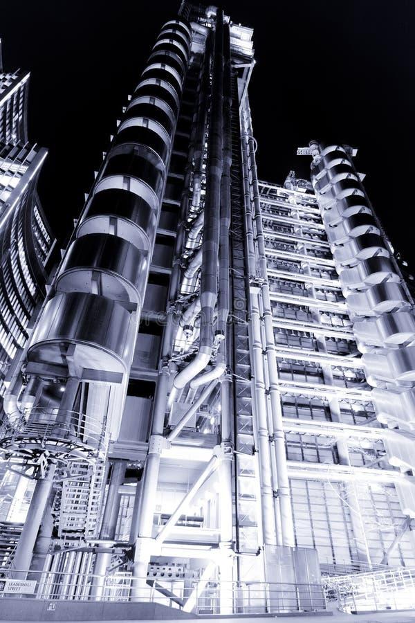 nuit de lloys de construction images stock