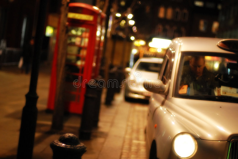 Nuit de Londres photo stock