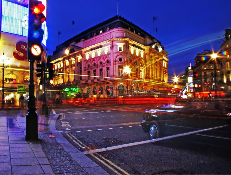 Nuit de Londres images libres de droits