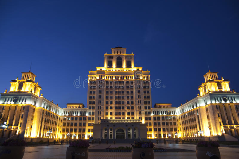 Nuit de Manchuria photo libre de droits