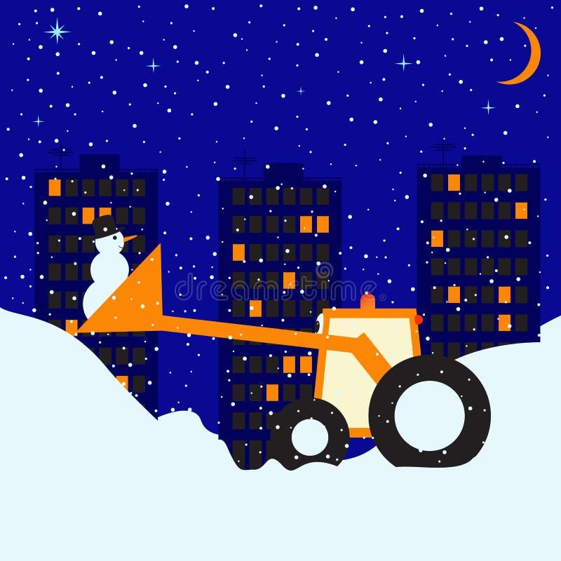 Nuit de Milou illustration stock