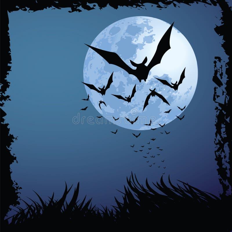 Nuit de Veille de la toussaint illustration de vecteur