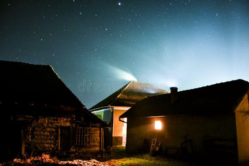 nuit froide image libre de droits