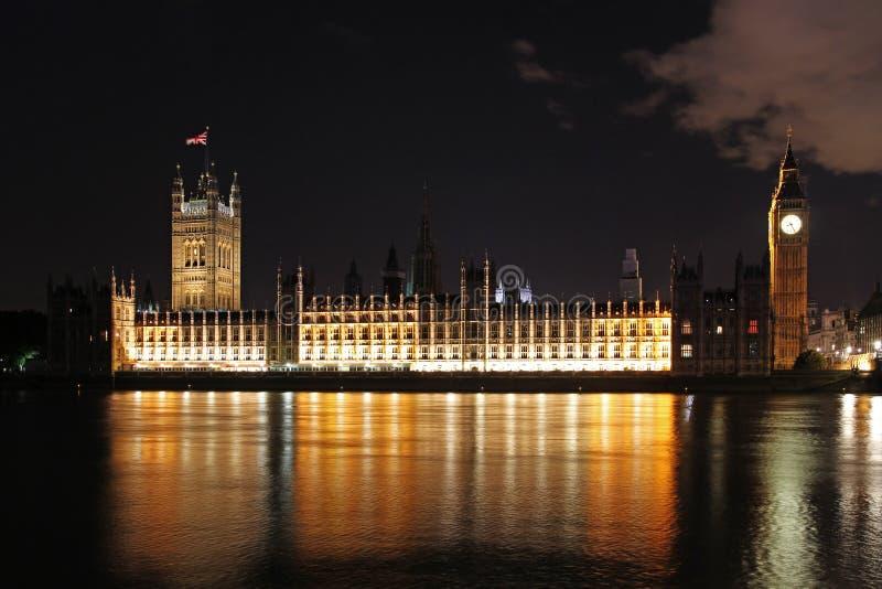 Nuit Londres photographie stock libre de droits
