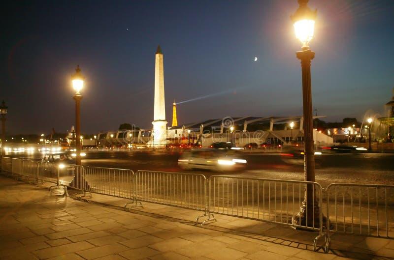Nuit Paris photo libre de droits