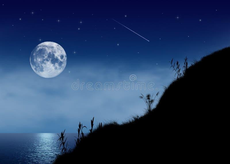 Nuit profonde illustration libre de droits