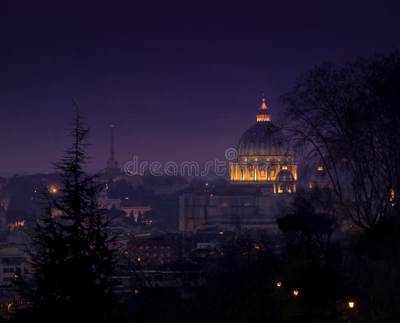 Nuit romaine photos stock