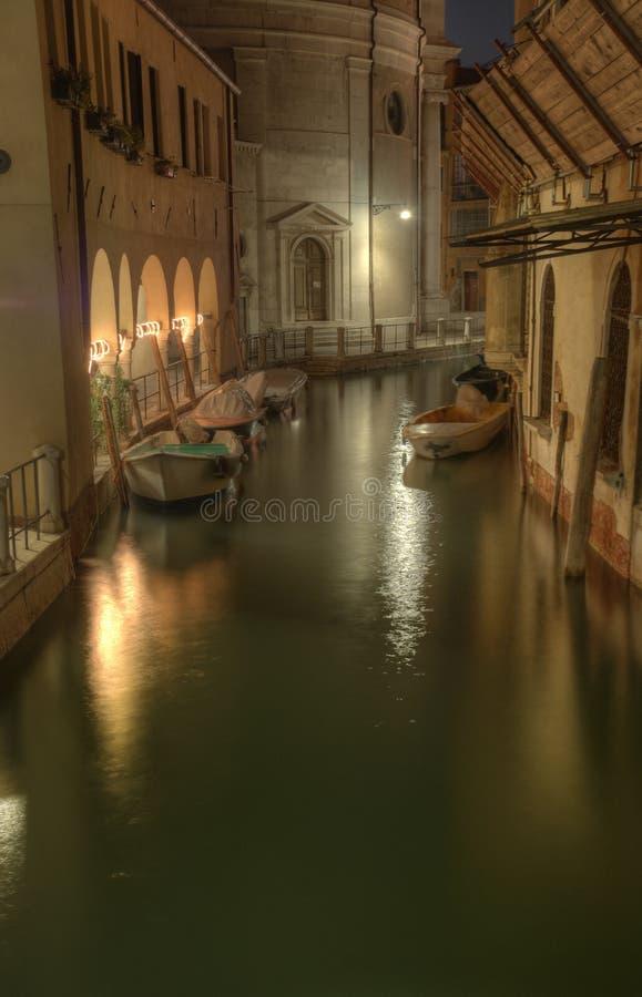 Nuit tirée de Venise photographie stock