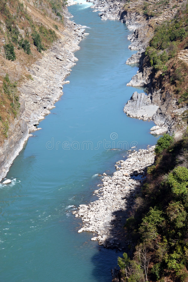 Download Nujiang River stock image. Image of forest, basin, canyon - 1403473