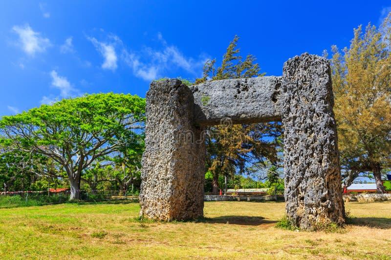Nuku'alofa, królestwo Tonga fotografia royalty free
