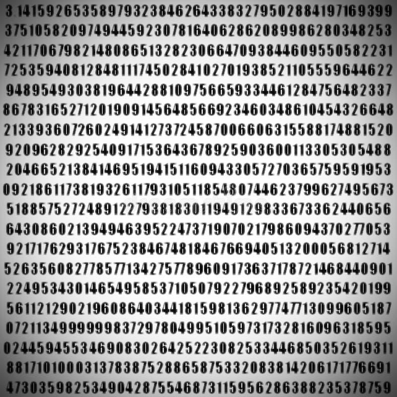 Numéro de pi images libres de droits