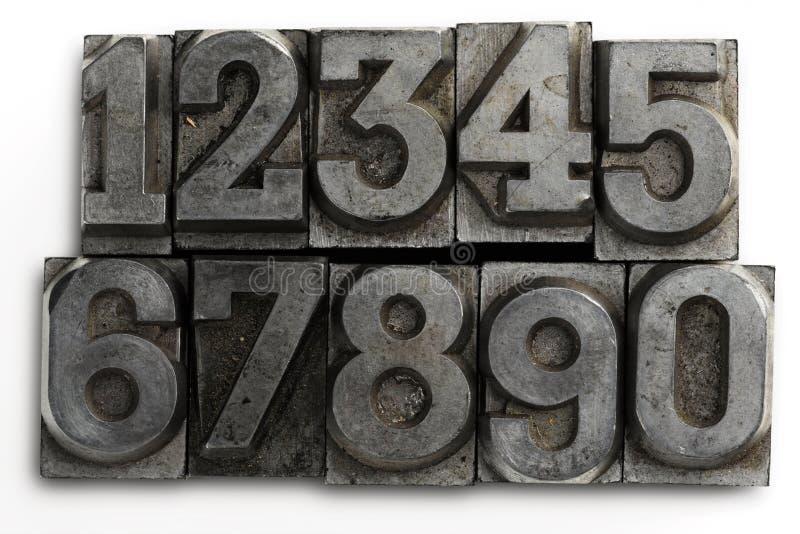 Numéros image libre de droits