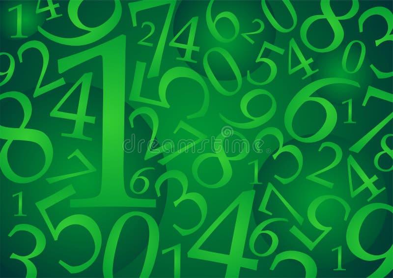 Numérote pattern_01 illustration libre de droits