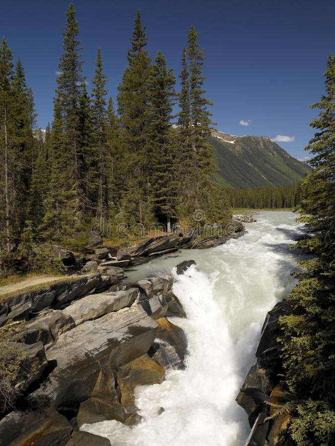 Numa Falls - British Columbia - Canada stock photos
