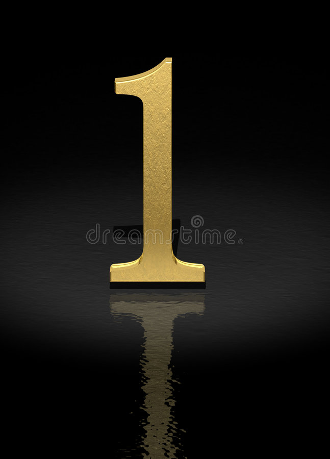Download Number 1 stock illustration. Illustration of countdown - 2231508