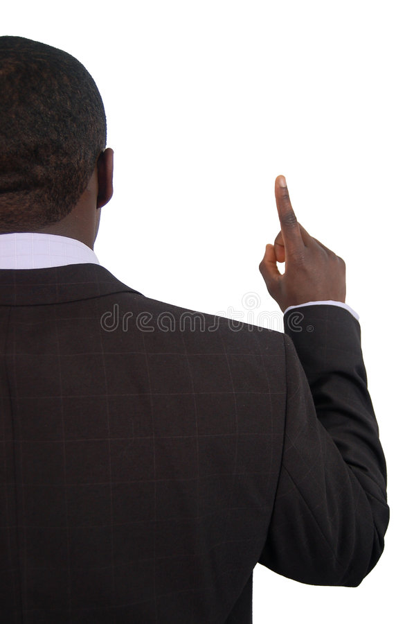 Number 1 for Business stock image