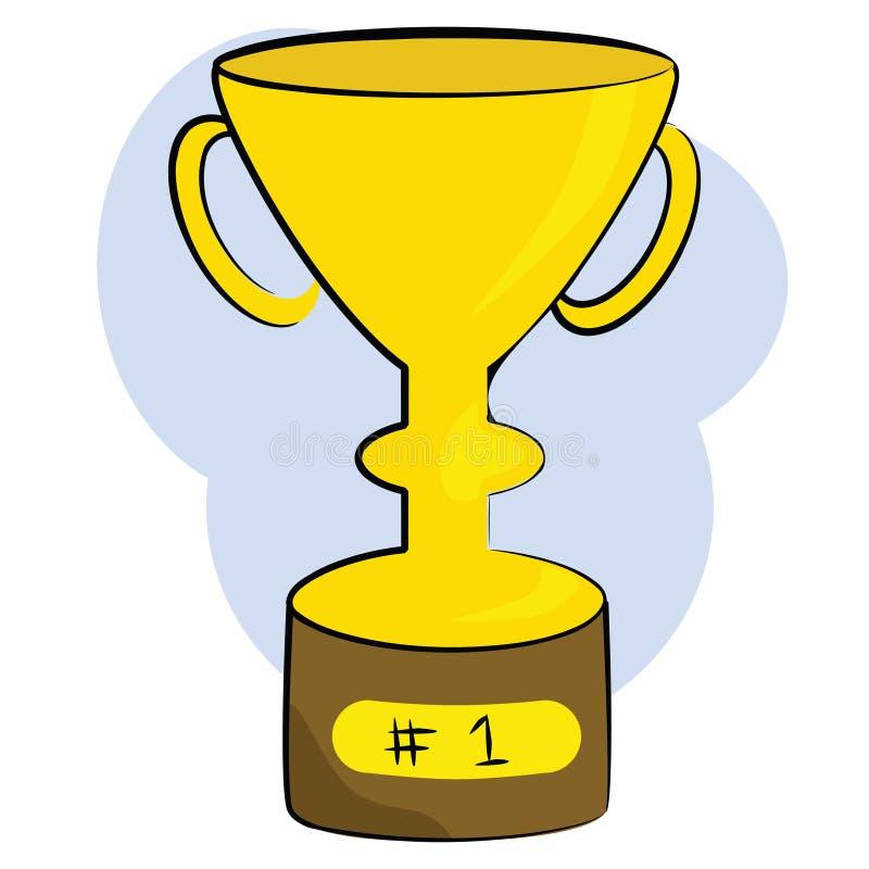 Number 1 Trophy