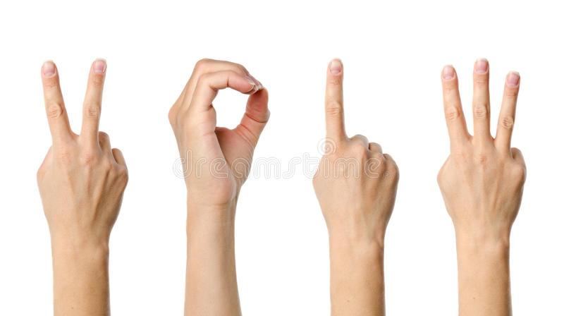 The number 2013. Shown by fingers in creative New Year greeting card stock photos