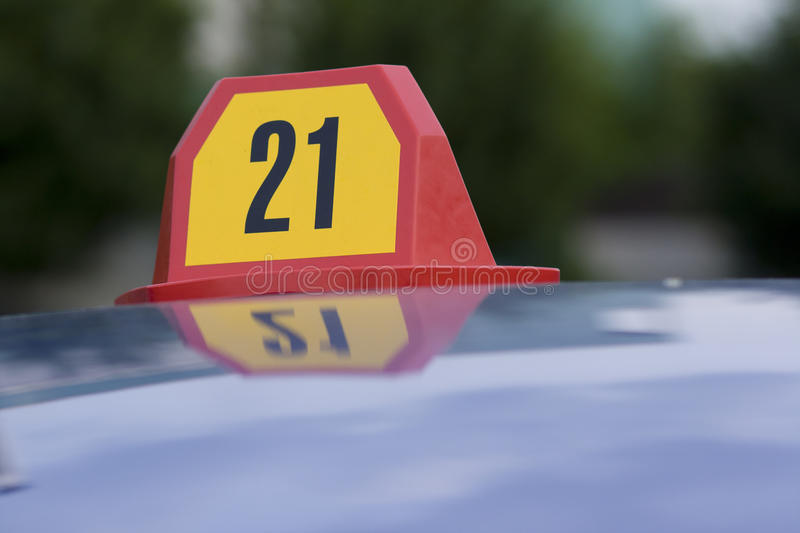 Number 21 stock photography