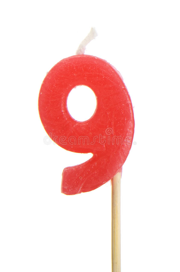 Number 9 royalty free stock photos