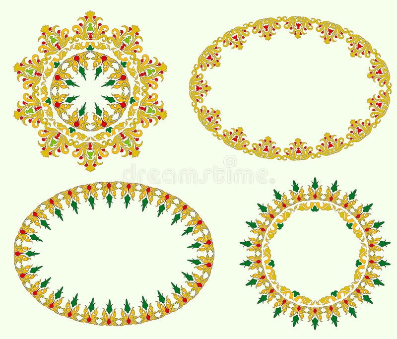 A number of frames stock vector. Illustration of kaleidoscope - 29785078