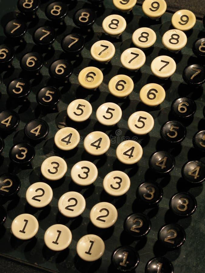 Download Number keys stock photo. Image of machine, vintage, keys - 16468998