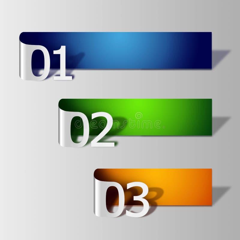 Download Number labal stock illustration. Image of square, green - 25815118