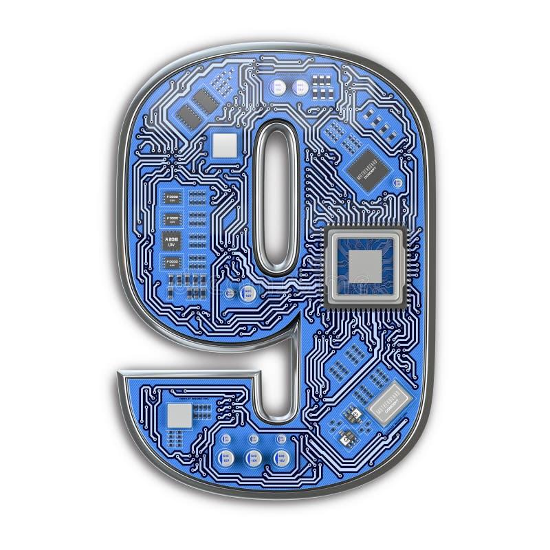 Circuit Board Alphabet Letter I Hi Tech Circuit Board Alphabet Letter