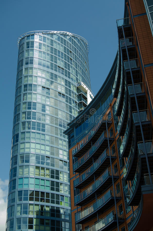 Download Number One Building, Gunwharf Quays Stock Photo - Image: 35008104