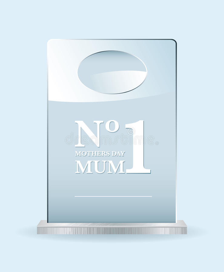 Download Number one mothers award stock vector. Illustration of achievement - 19896397