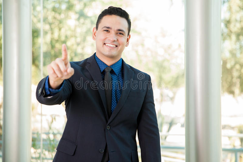 Download We are number one stock photo. Image of leader, copy - 47881140