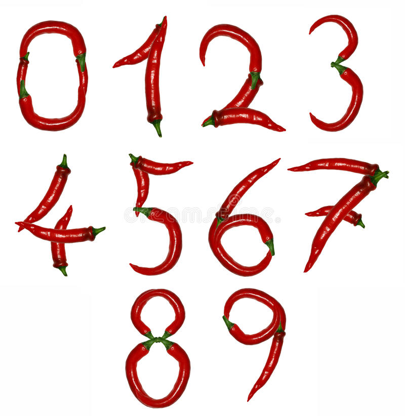 Download Number Of Peppers Royalty Free Stock Photography - Image: 17590197