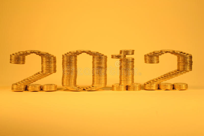 Download Number Two Thousand Twelfth Laid Stacks Of Coins Stock Photo - Image: 21871232