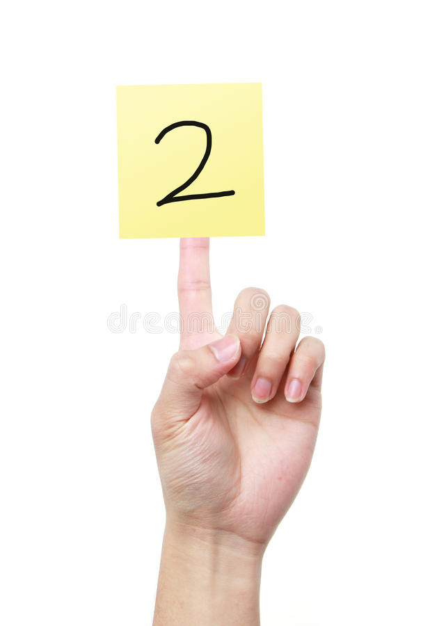 Number two stock images