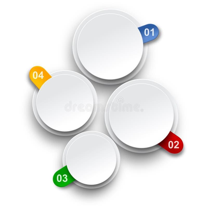 Download Numbered Infographics List Design. Stock Illustration - Image: 30333804
