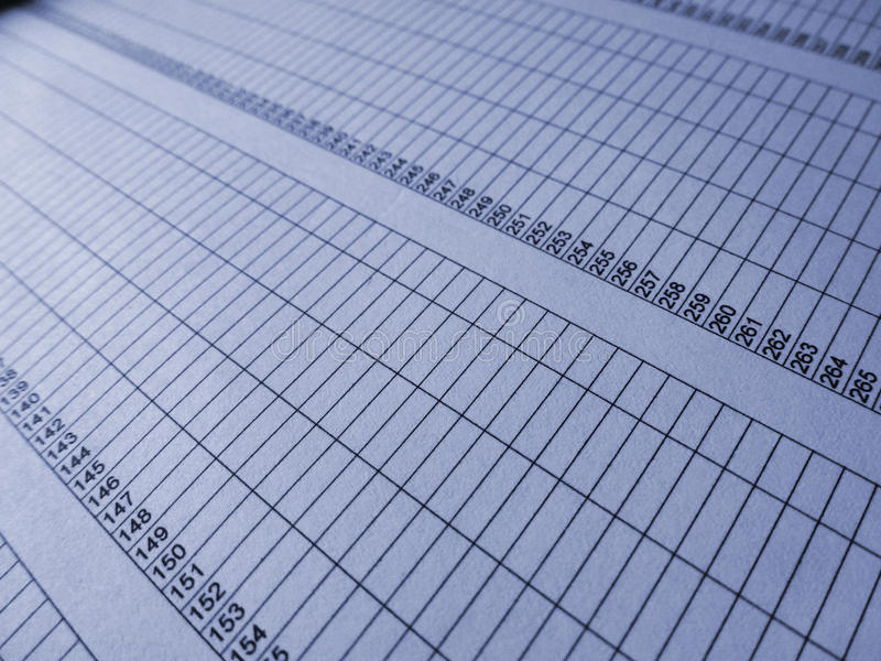 Download Numbered rows stock photo. Image of spreadsheet, numbered - 22604656