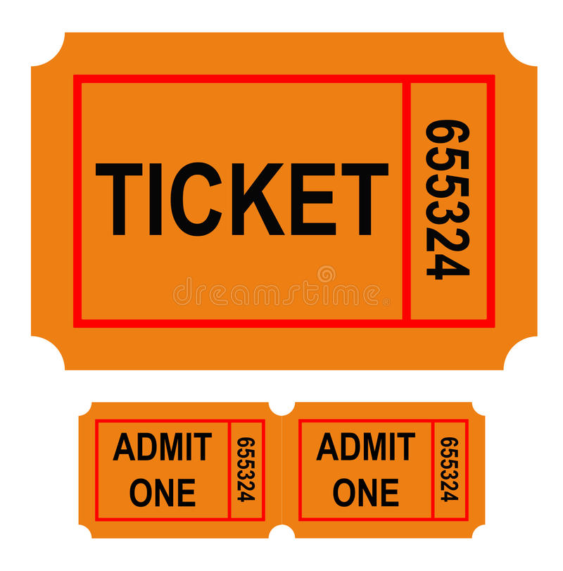 Download Numbered ticket stock illustration. Image of rectangular - 12975483