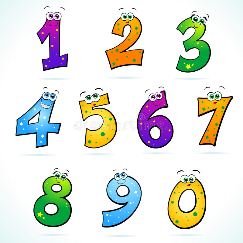 Download Numbers stock illustration. Image of illustrate, arithmetic - 19022270