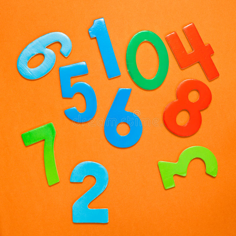 Download Numbers stock illustration. Image of chaos, background - 22485404
