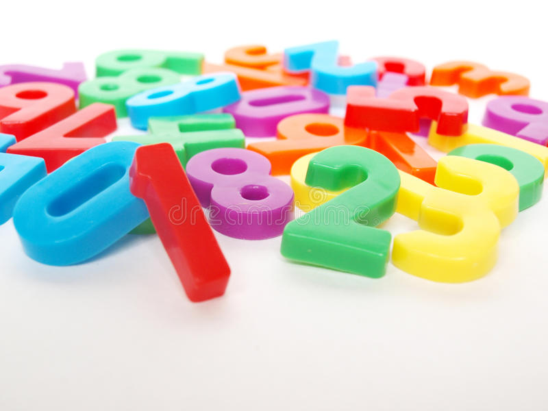 Download Numbers stock image. Image of children, black, elementary - 23157871